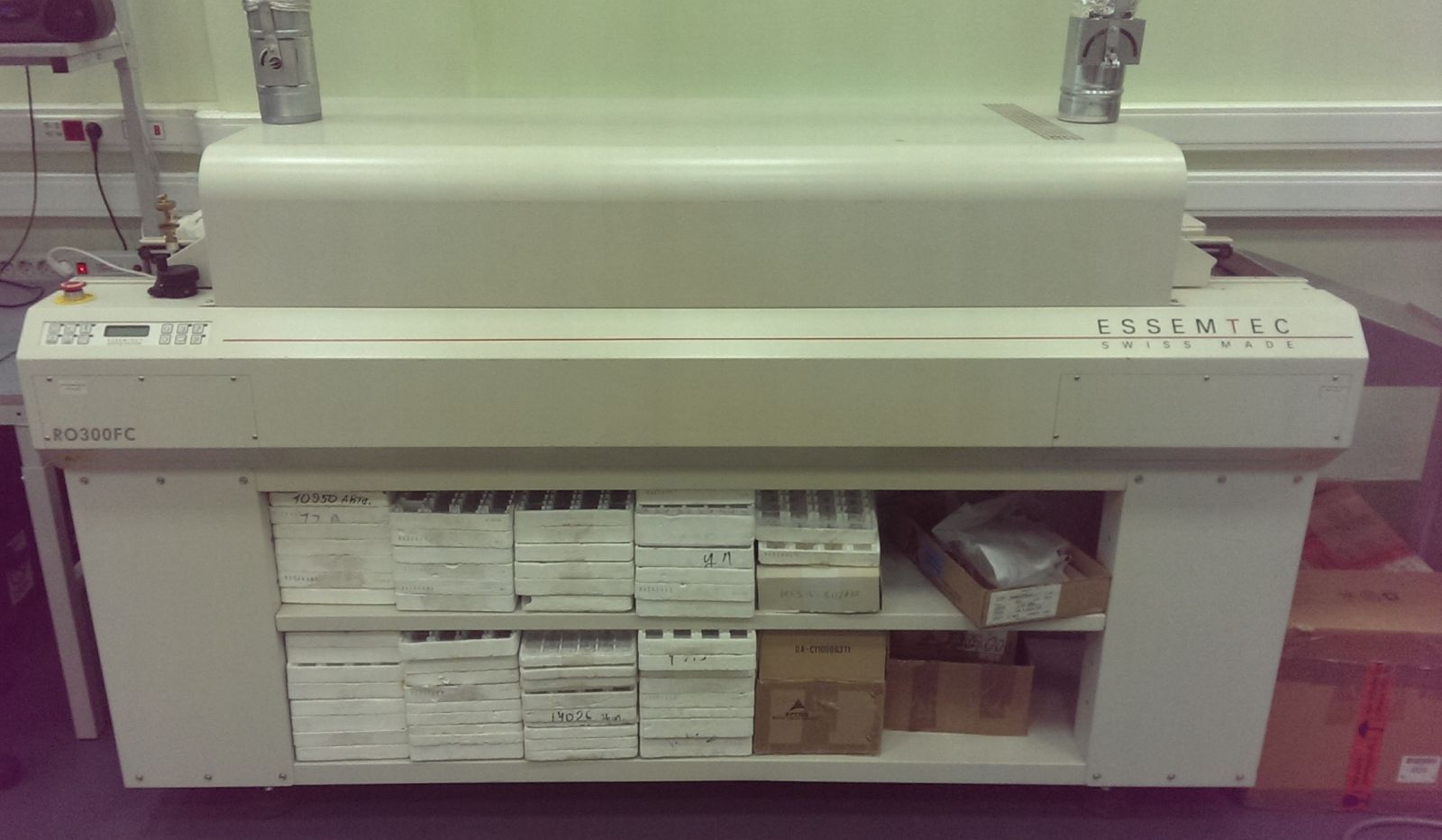 ro300fc c печь конвекционного оплавления с цепным конвейером